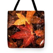 With Love - Autumn Pond Tote Bag