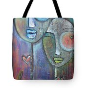 With Love On Our Wings Tote Bag