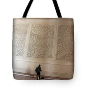 With Malice Toward None With Charity For All -- President Lincoln's Second Inaugural Address Tote Bag