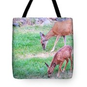 With Mother Tote Bag