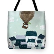 With The Birds Tote Bag