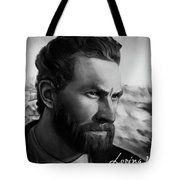 With Theo Support - There Is No Stopping Him Tote Bag
