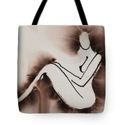 Withdrawn Tote Bag