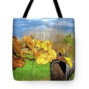 Withered Grape Vine Tote Bag