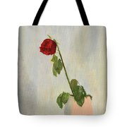 Withering Rose Tote Bag
