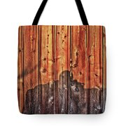 Within A Wooden Fence Tote Bag