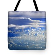 Within Clouds Tote Bag
