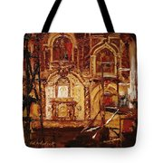 Within The Scaffold Tote Bag