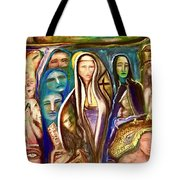 Witnessed With Sister Beyond Reasoning Or Mystery Tote Bag