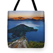 Wizard At Sunset Tote Bag