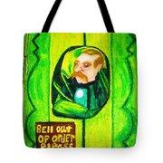 Wizard Of Oz Gate Keeper  Tote Bag