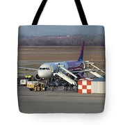 Wizz Air Jet And Fire Brigade   Tote Bag