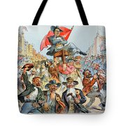 W.j. Bryan Cartoon, 1896 Tote Bag
