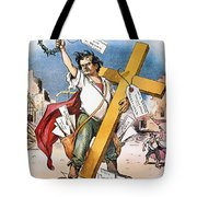 W.j. Bryan: Cross Of Gold Tote Bag