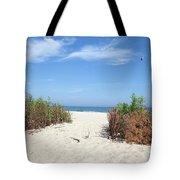 Wladyslawowo White Sand Beach At Baltic Sea Tote Bag