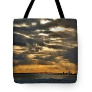 Wny Spring Sunset Tote Bag