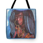 Virtuous Wodaabe Girl          From The Attitude Girls  Tote Bag