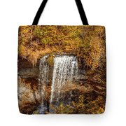 Wolcott Falls Ledge Tote Bag by William Norton