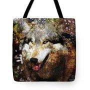 Wolf Art Version 8 Tote Bag