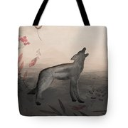 Wolf At Twilight Tote Bag