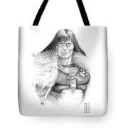 Wolf Barbarian Tote Bag