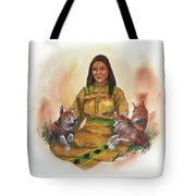 Wolf Clan Mother Tote Bag