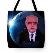 Wolf Covers The World Tote Bag