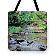 Wolf Creek Tote Bag by Kathleen Struckle