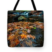 Wolf Creek Tote Bag by Rick Berk