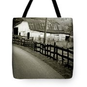 Wolf Creek Road Tote Bag