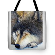 Wolf Dreams Tote Bag
