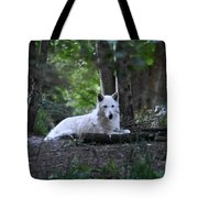 Wolf Greeting Tote Bag