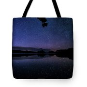 Wolf Lake At Night 1 Tote Bag