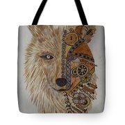 Wolf Machine Tote Bag
