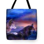 Wolf Mates Tote Bag