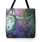 Wolf Protector Tote Bag