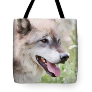 Wolf Smile Tote Bag