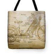 Wolfmueller Motor Cycle 1894 Tote Bag