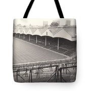 Wolverhampton - Molineux - Molineux Street Stand 1- Bw - Leitch - September 1968 Tote Bag