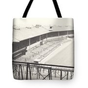 Wolverhampton - Molineux - Waterloo Road Stand 1 - Bw - Leitch - September 1968 Tote Bag