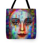Woman 395 Tote Bag