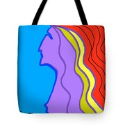 Woman 6 Tote Bag