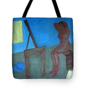 Woman After Bathing Tote Bag