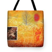Woman And Life Tote Bag