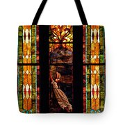 Woman And The Cross Tote Bag
