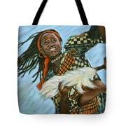 Woman Dancing Tote Bag