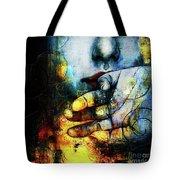 Woman Face Tote Bag