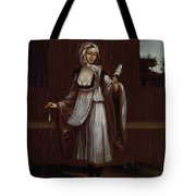 Woman From The Island Of Patmos Tote Bag