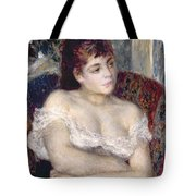 Woman In An Armchair Tote Bag