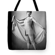 Woman In Bathing Suit And Cape, C.1920s Tote Bag